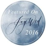 Featured on Joy Wed 2016