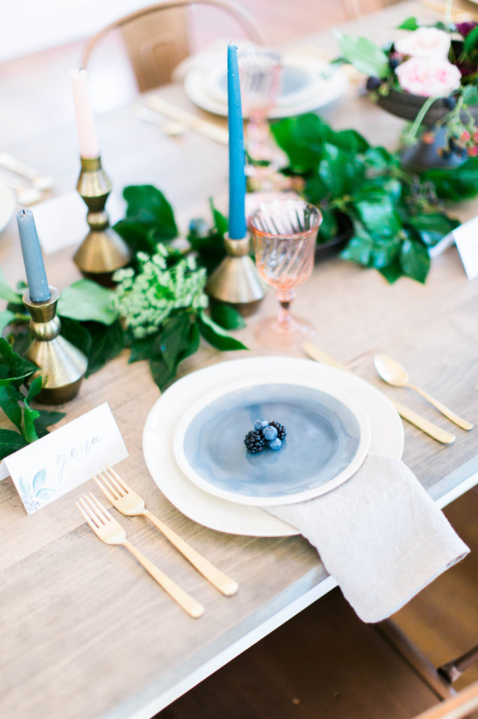 Tabletops - Look Book, Cottage Luxe Place Setting