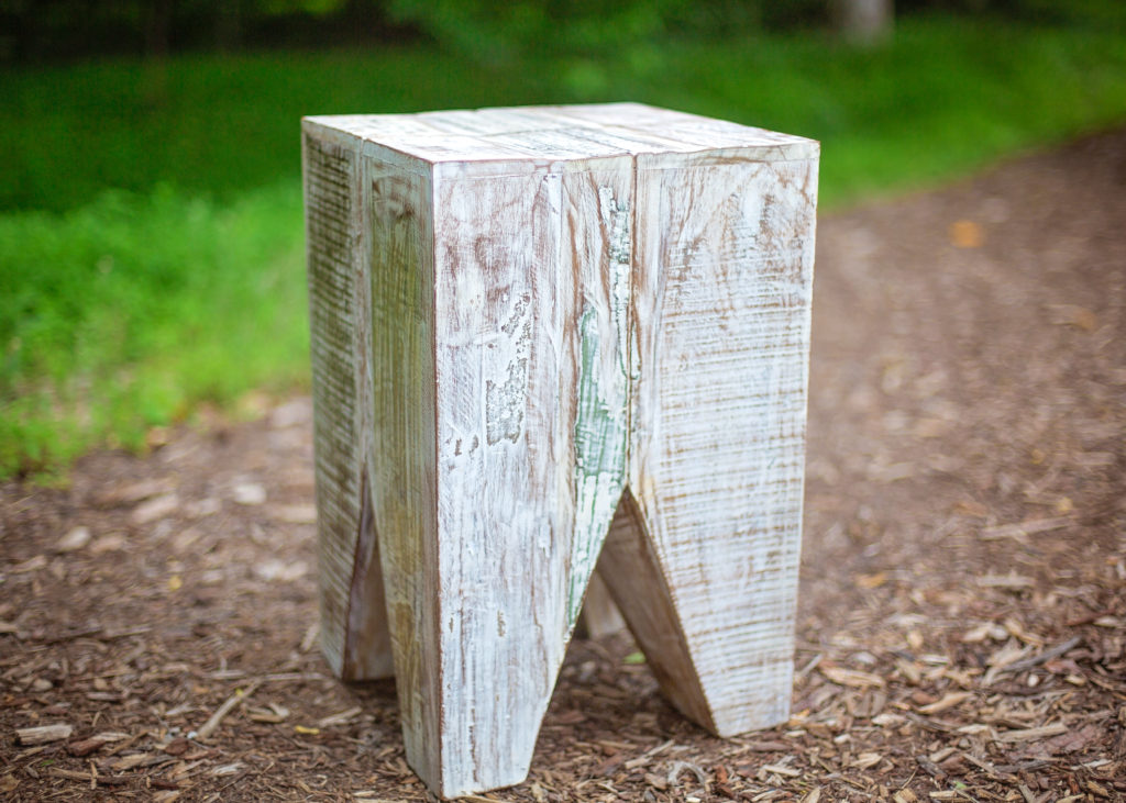 Accent Table, Acadia Block Side Table