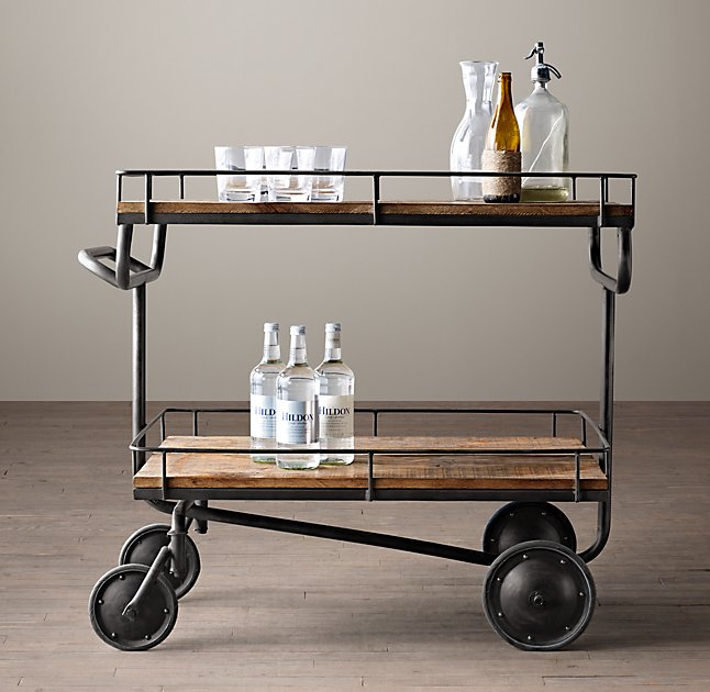 Bars + Bar Carts, Henry Bar Cart