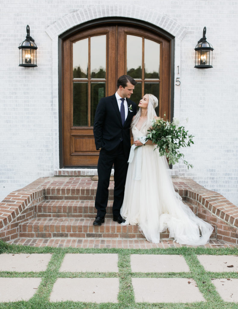 Joy Wed Feature An Intimate Affair - Wedding Couple