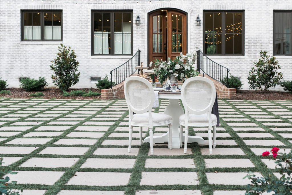 Feature on JoyWed An Intimate Affair - Outdoor Seating