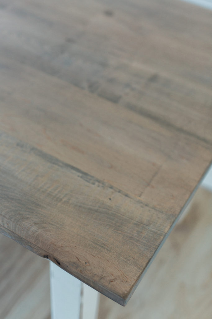 Accne Tables, Signature Square Serving Table Top Detail