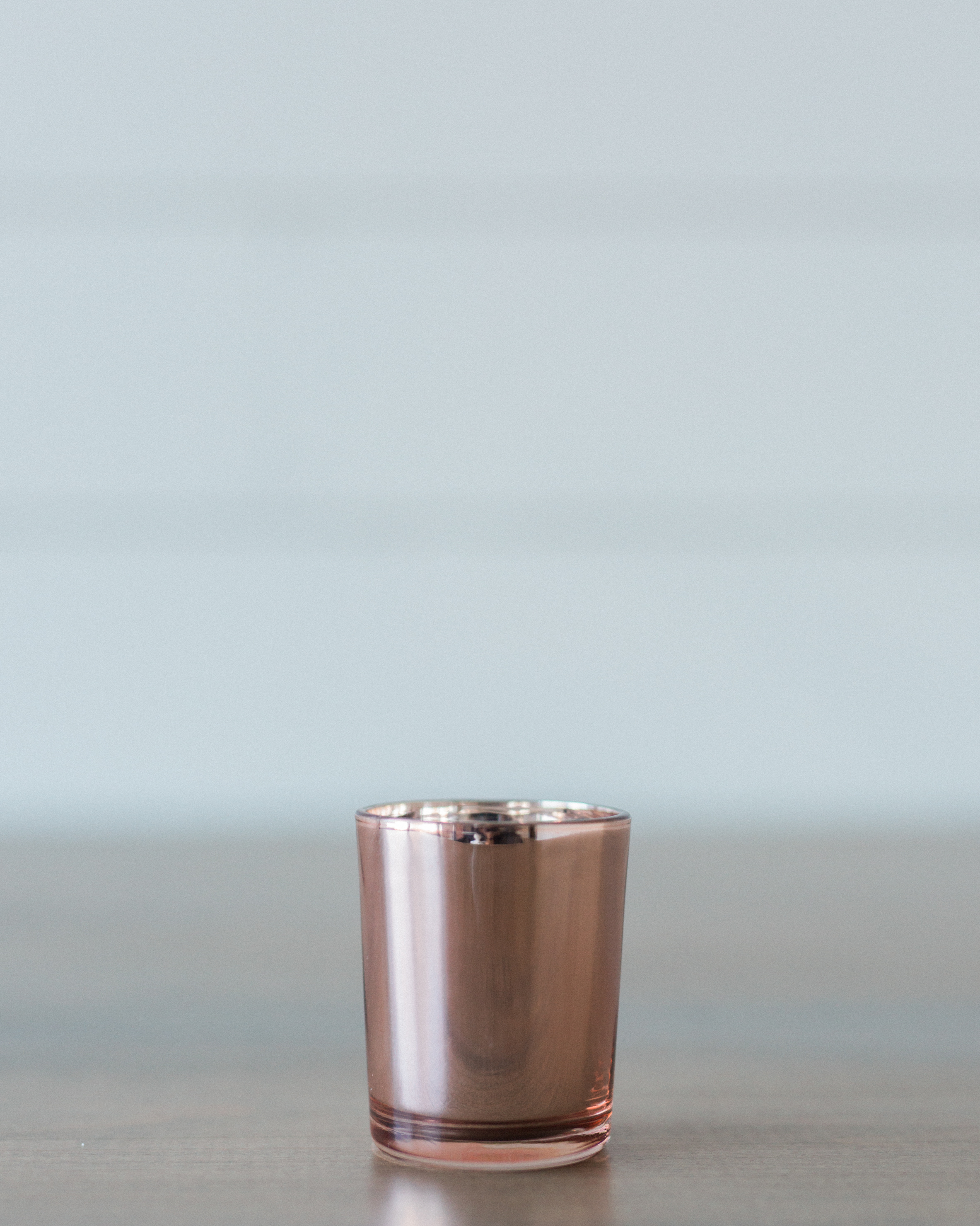 Details + Accessories, Rose Copper Votive