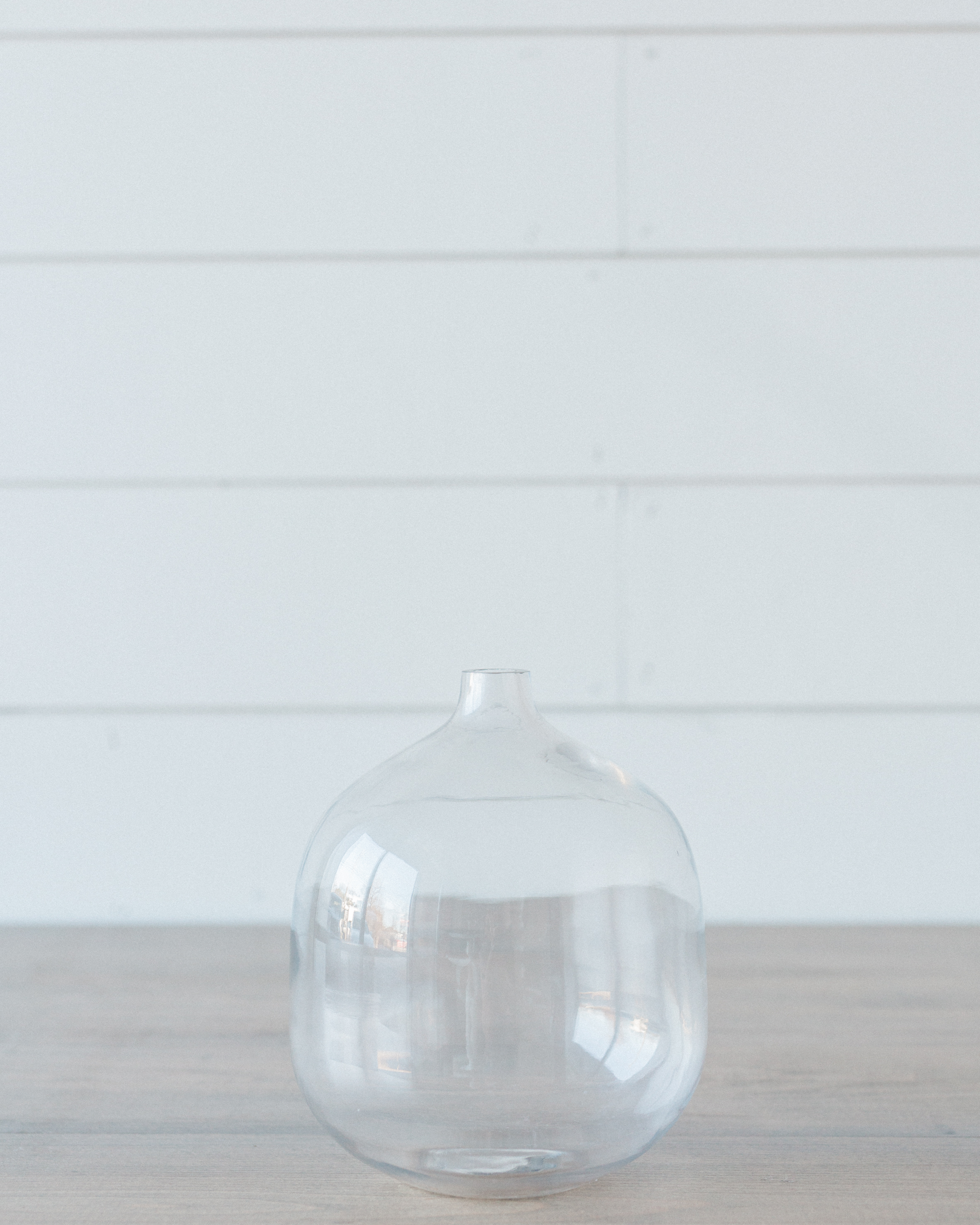 Details + Accessories, Round Glass Vase