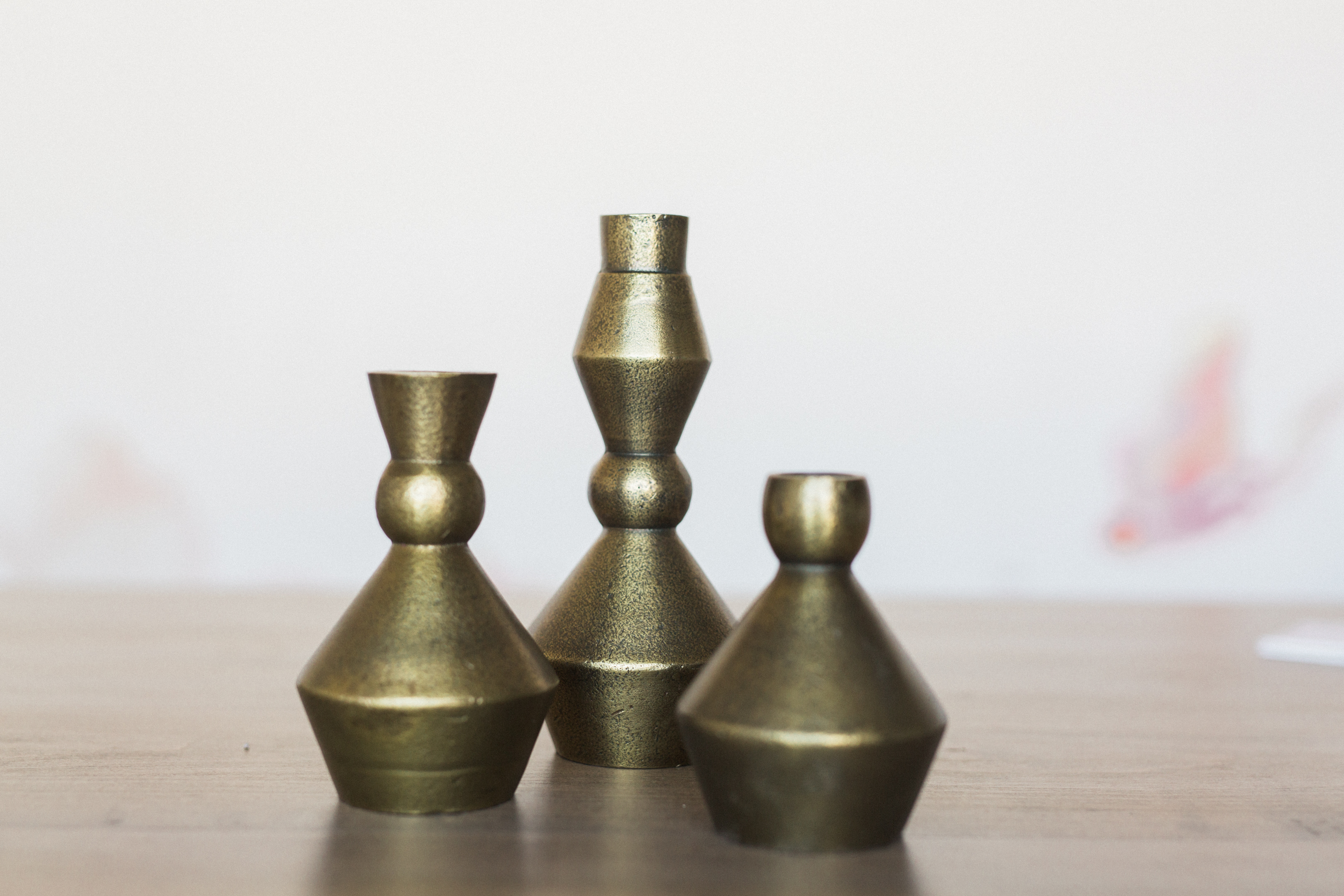 Details + Accessories, Stanhope Candlesticks - Set of 3
