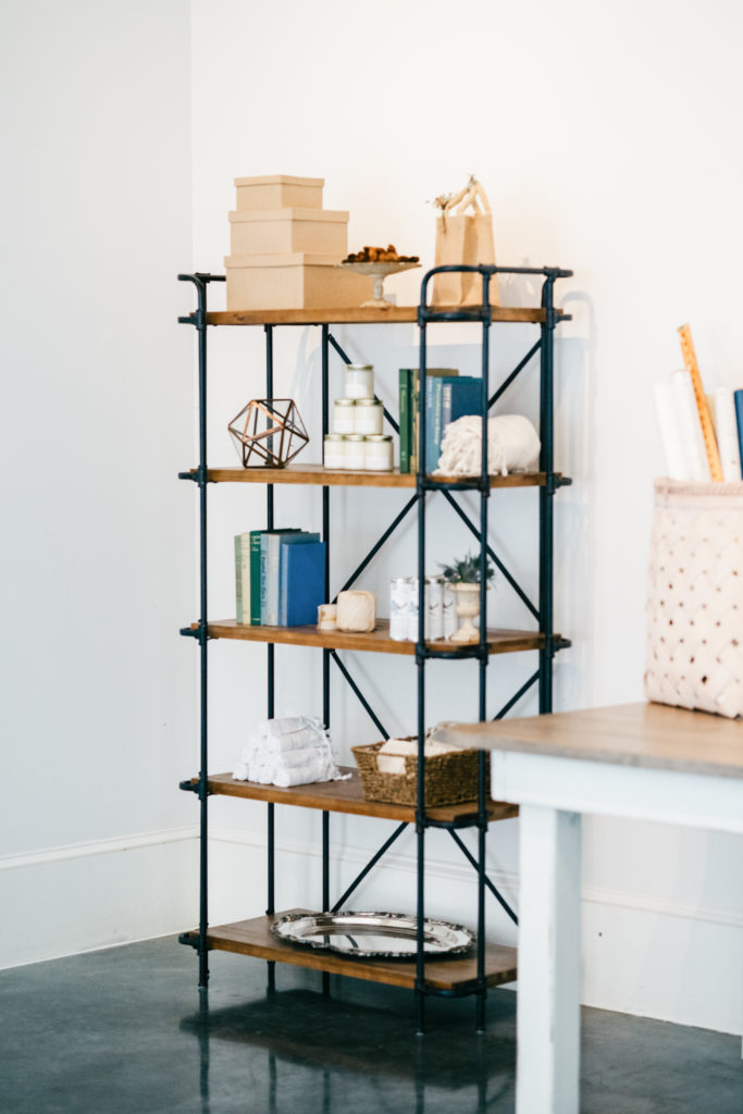 Henry Shelving Unit/Bar Back Styled Photo