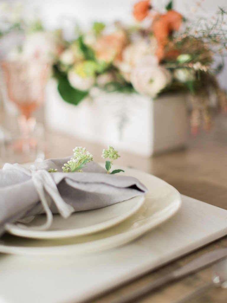 Bridal Pop Up Featuring our tableware and linens