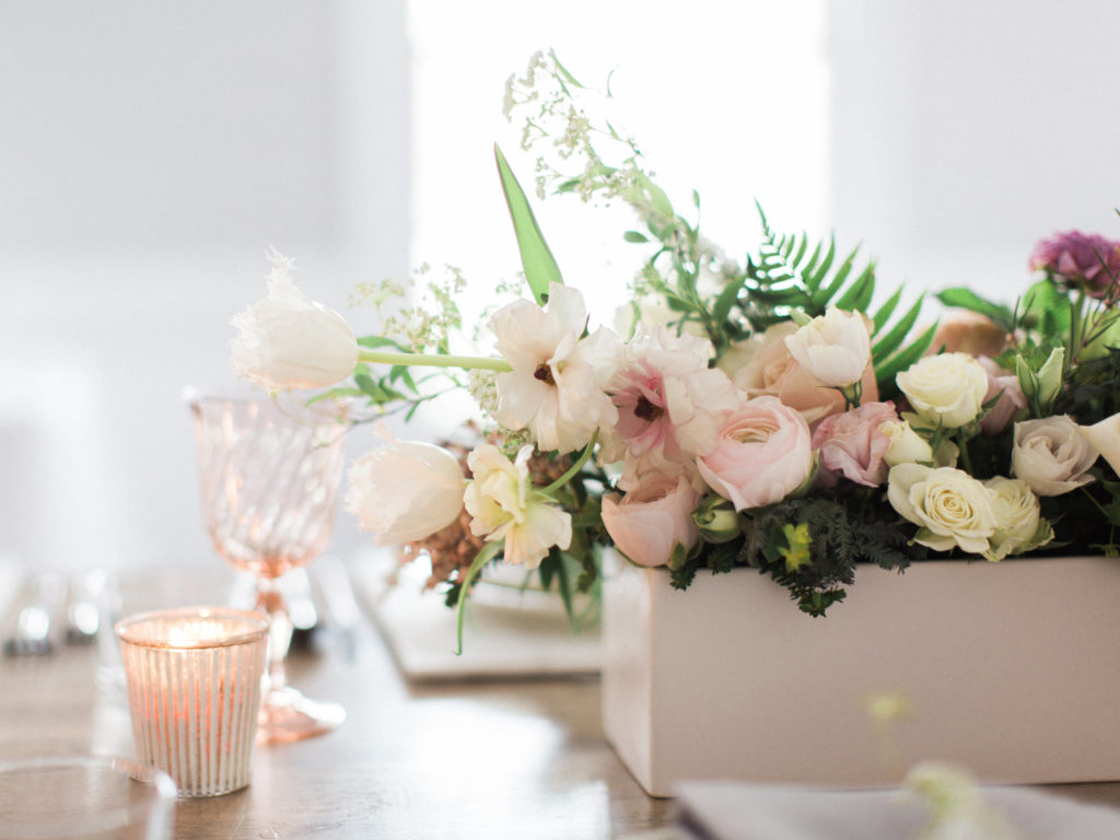 Bridal Pop Up Featuring beautiful flowers