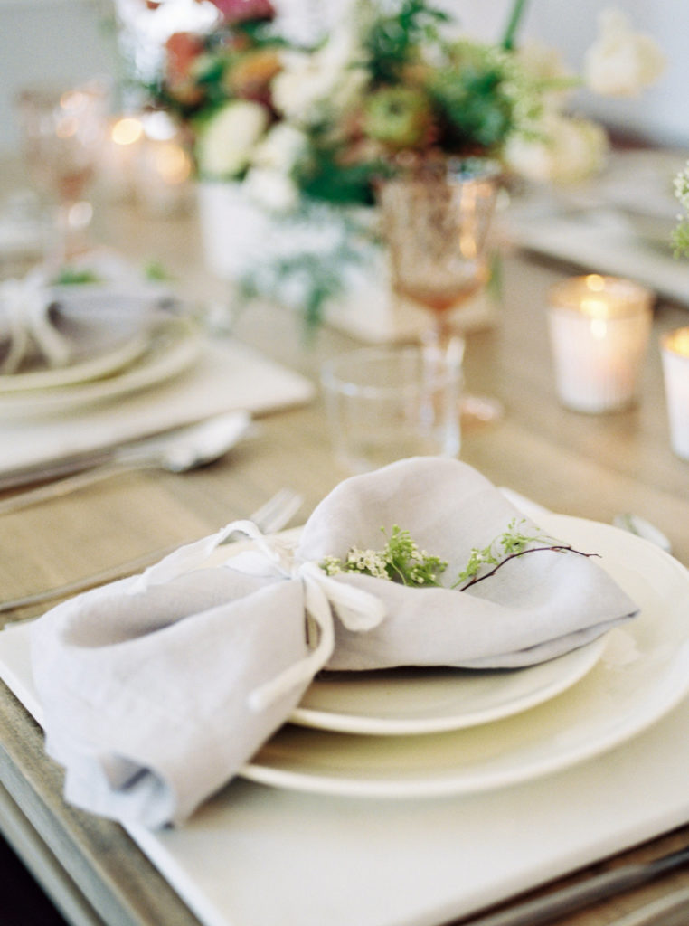 Pop up Bridal with Cottage Luxe Linens