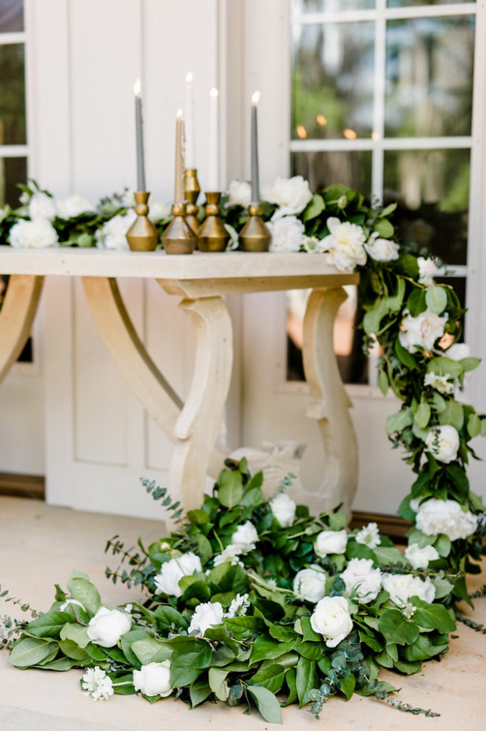 Grace Table with Flowers