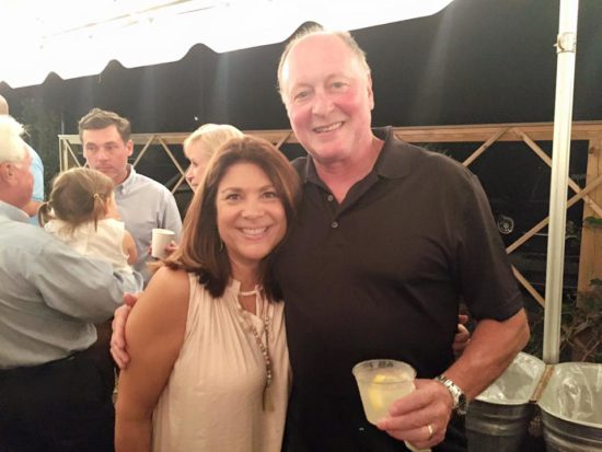 Joe and Rosanne at Vivian Howard's Book Launch