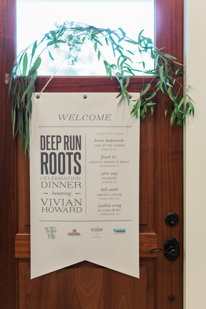 Deep Run Roots Book Launch Sign
