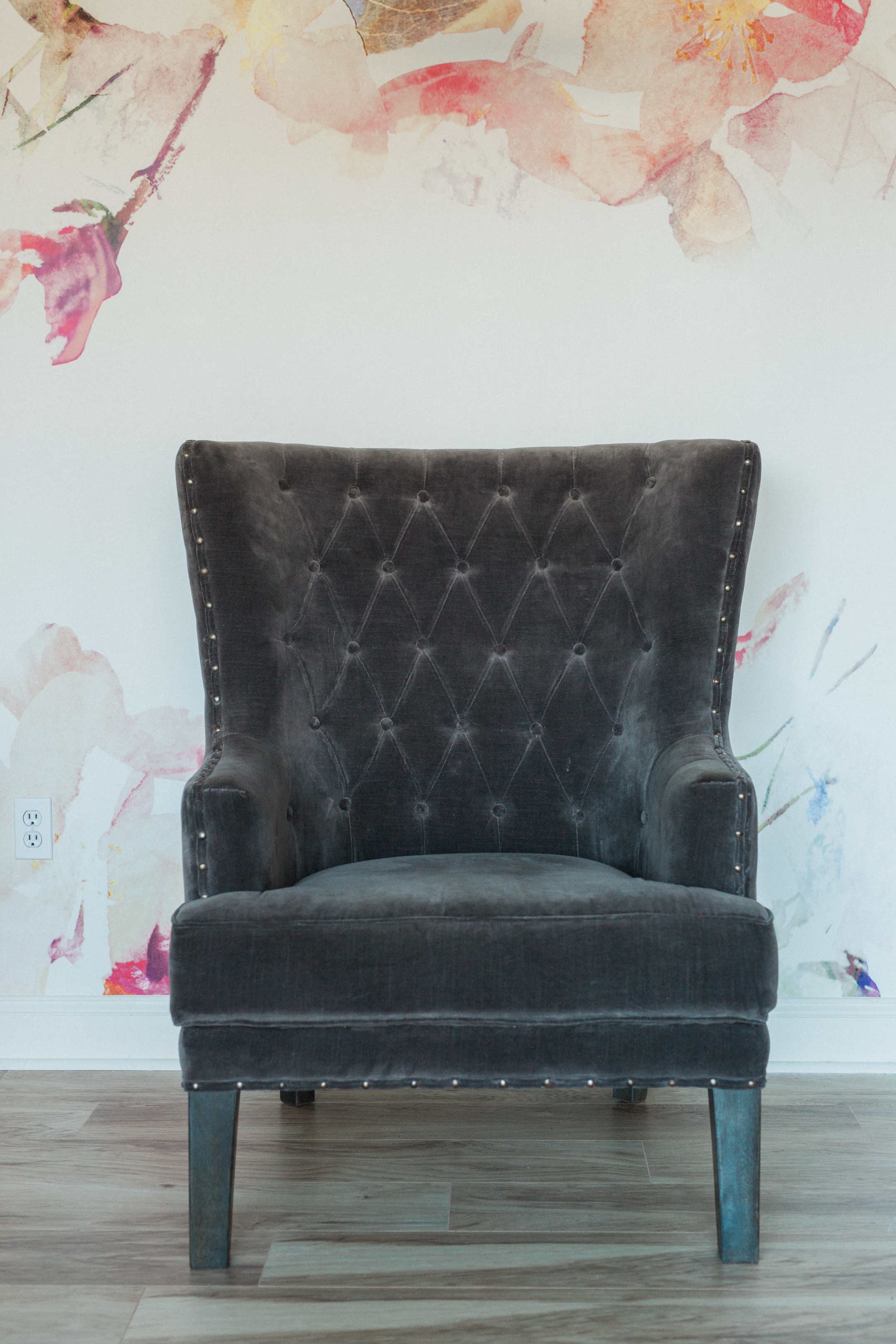 upholstered furniture cottage luxe